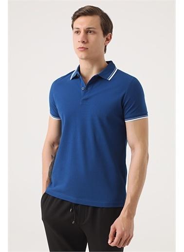 TWN Twn Slim Fit Vizon Pike Dokulu T-Shirt Saks